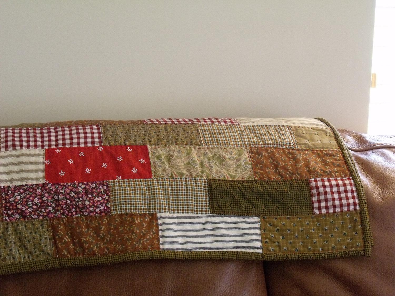 Quilt Modern Handmade Patchwork Quilt Lap Quilt Toddler Patchwork ... : patchwork quilt handmade - Adamdwight.com
